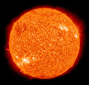The Sun by the Atmospheric Imaging Assembly of NASA's Solar Dynamics Observatory - 20100801.jpg