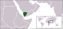 Location of اليمن