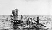 German UC-1 class World War I submarine