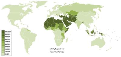 العالم الإسلامي المعرفة