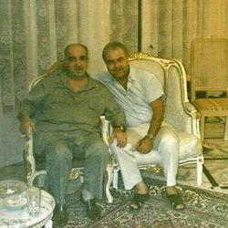 القادة صلاح خلف وفخري العمري.