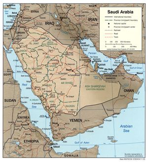 Geography Of Saudi Arabia Chronicle Fanack Com