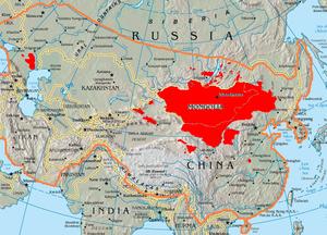 تاريخ منغوليا المعرفة