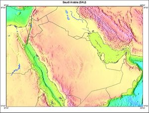 Geography Of Saudi Arabia Chronicle Fanack Com 1 3