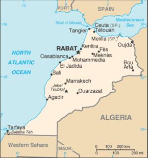 قائمة مدن المغرب المعرفة
