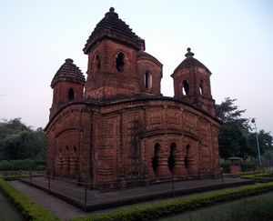 Panchura Temple made from terracott