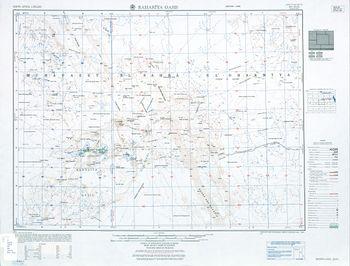 خريطة توضح موقع الواحات البحرية.