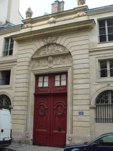 d8ac3645f Last home of Chateaubriand, 120 Rue du Bac, Paris. Chateaubriand had an  apartment on the ground floor.