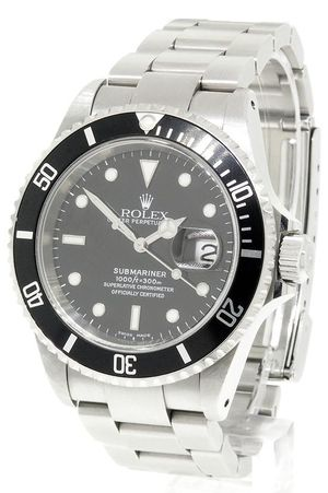 3c4f8b83a The Rolex Submariner is an officially certified chronometer