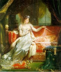 Napoleon's first wife, Joséphine, Empress of the French