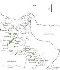 قائمة حقول النفط في السعودية المعرفة