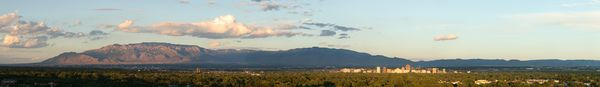 A Panoramic View of the City of Albuquerque 2008.