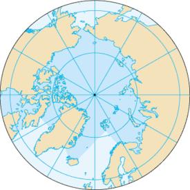 القطب الشمالي المعرفة